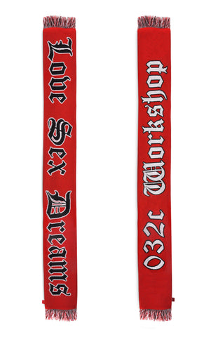 032c Scarf Red