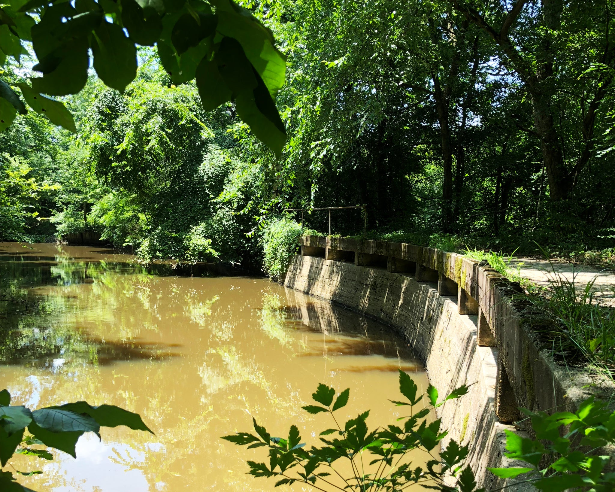 Appomattox River Trail Canal Retaining Wall