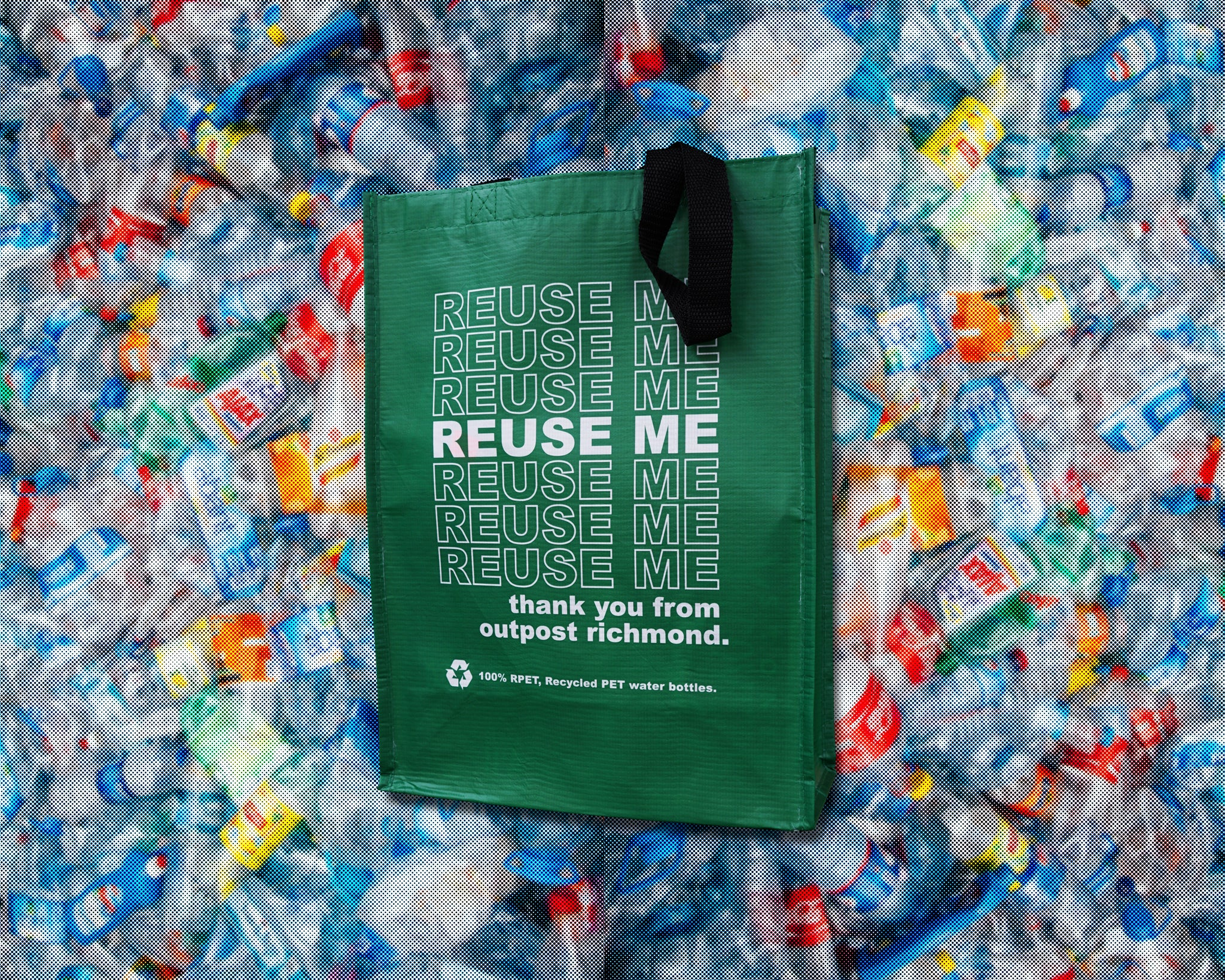 Outpost Richmond Reusable Bags