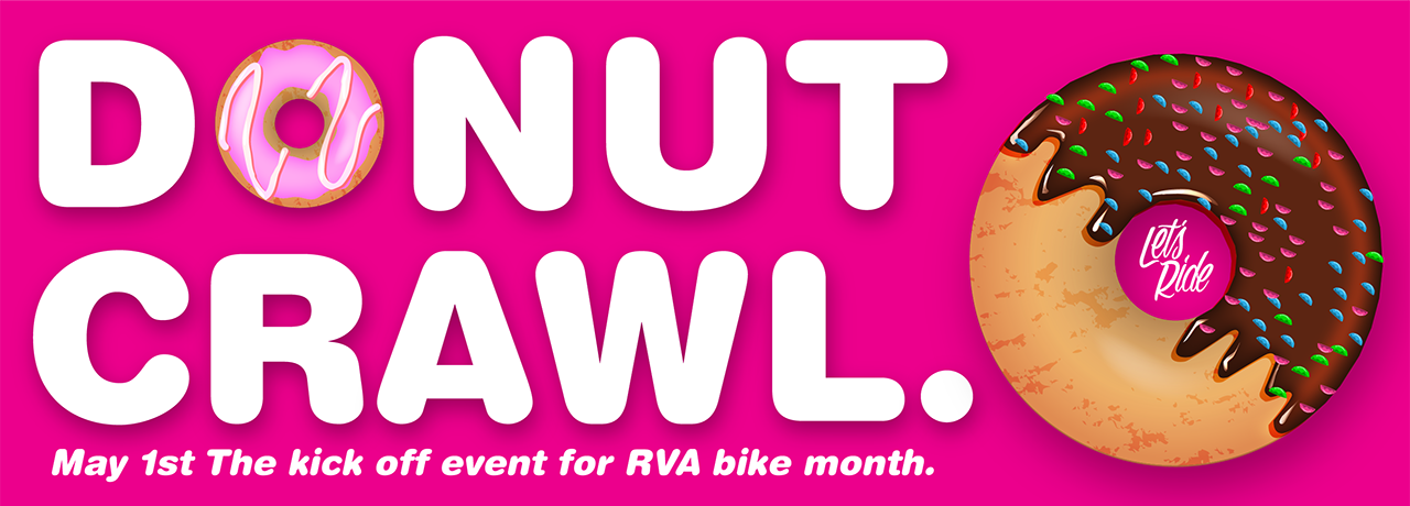 Bike Month, Donut Crawl.