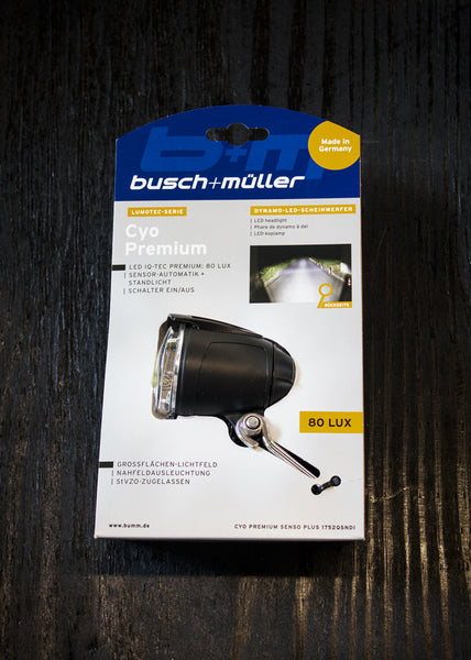 Busch And Muller Cyo Premium Dynamo Headlight