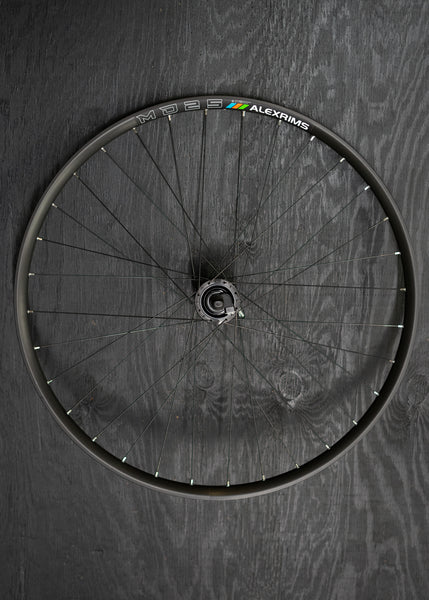 Dynamo Wheel; Trail/ Hybrid QR Alex i25 700c Tubeless
