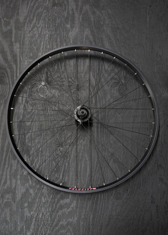 Dynamo Wheel; Road/Gravel Disc Thru Axle Tubeless i18 Rim