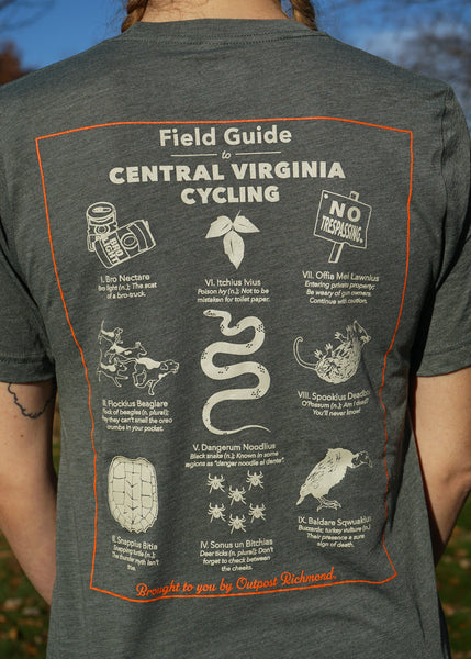 Outpost Field Guide to Central Virginia Cycling T