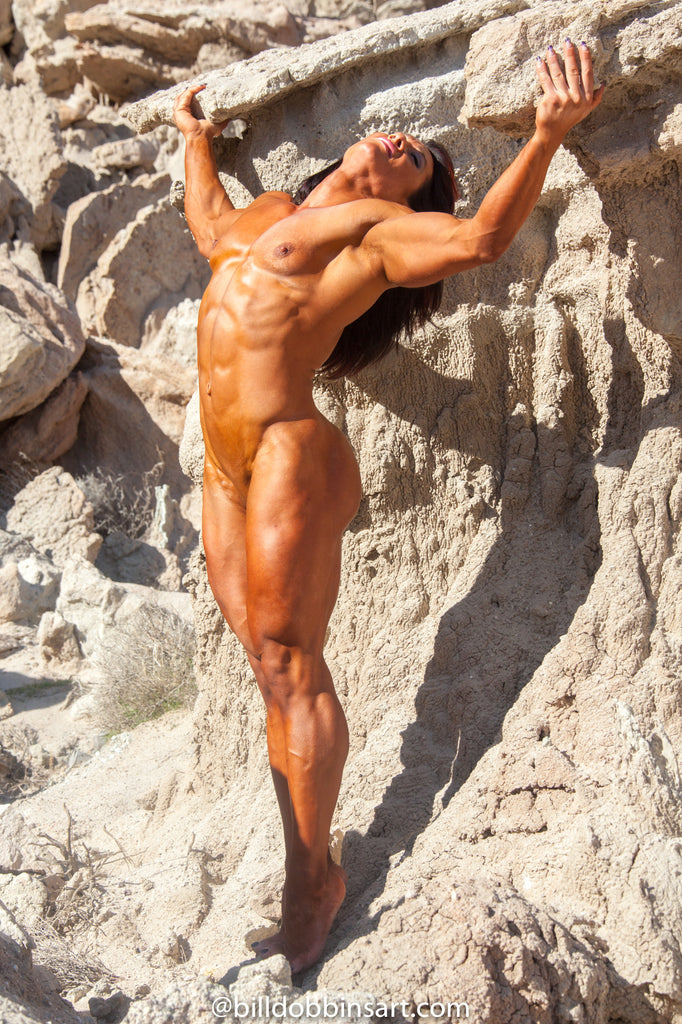 ALINA POPA NUDE MUSCLE DOWNLOAD -  Nude Back Bend