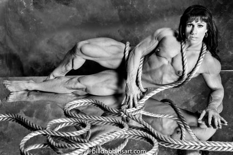 ANNIE RIVIECCIO BW DOWNLOAD - Nude With Rope 1