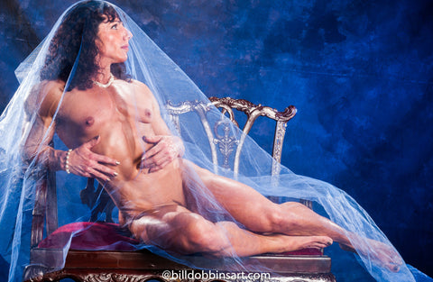 ANNIE RIVIECCIO DOWNLOAD - Nude Reclining Blue Veil