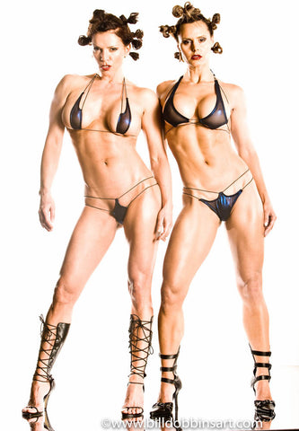 SHARON & TIMEA: SEEING DOUBLE