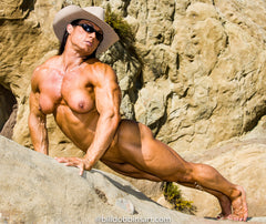 TAZZIE COLOMB DOWNLOAD - Desert Nude With Hat