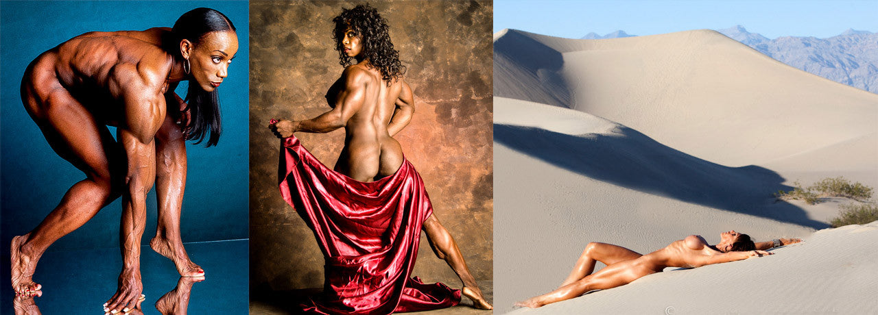 Bill Dobbins Color Fine Art Prints of female muscle