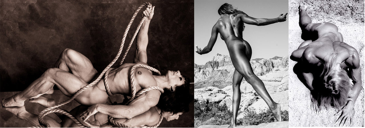 Bill Dobbins BW Fine Art Prints of female muscle