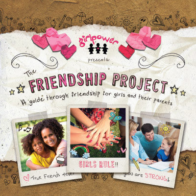 Friendship project workbook cover
