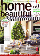 home beautiful magazine december 2013