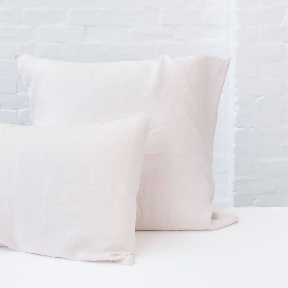 Pillowcase Set - 100% French flax linen