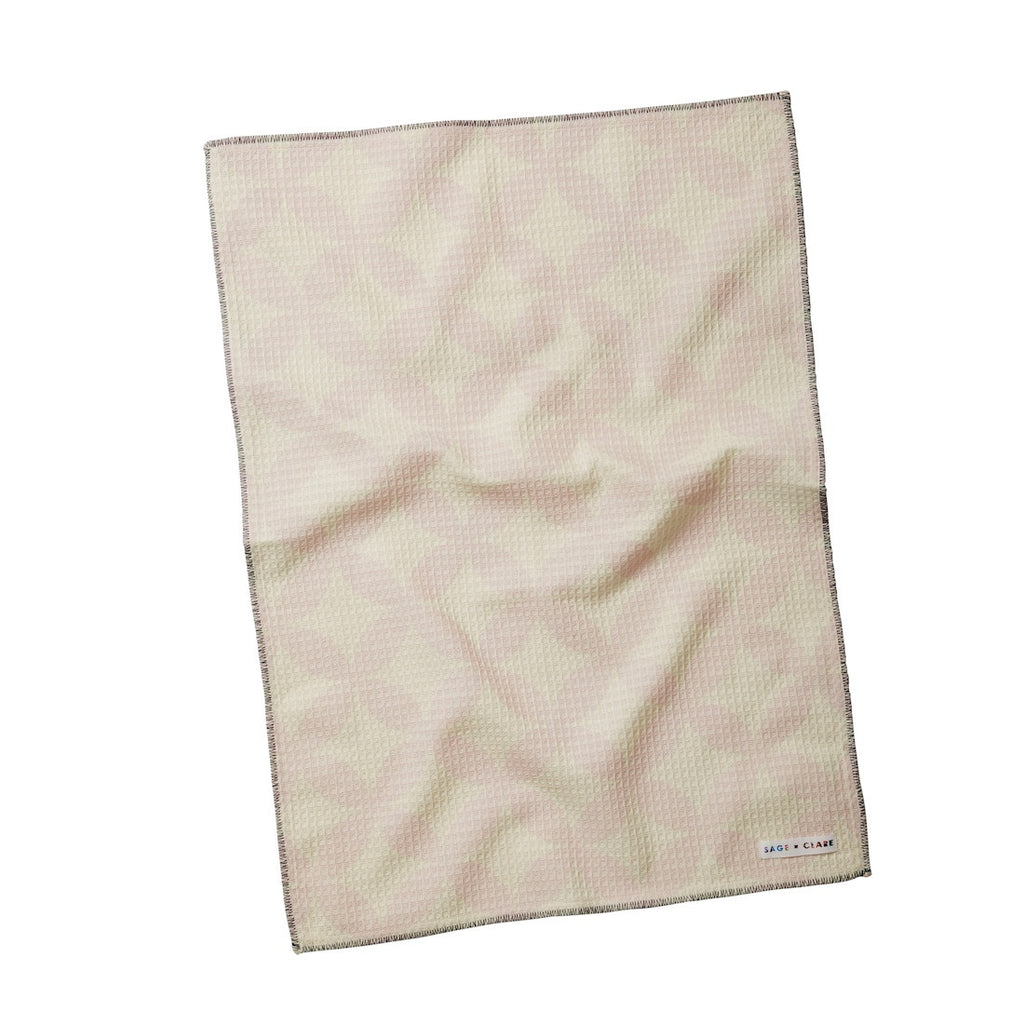 Nora Waffle Hand Towel - Sage and Clare - Greenhouse Interiors - 1