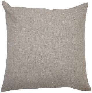 BLANK CANVAS linen cushion - oatmeal