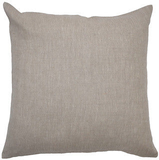BLANK CANVAS linen cushion (with insert) - oatmeal