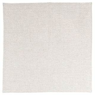 BLANK CANVAS linen napkin set - oatmeal