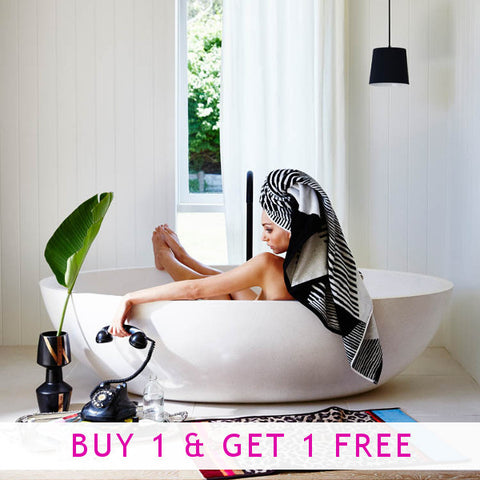 Black Diamond Towels - BUY 1 GET 1 FREE