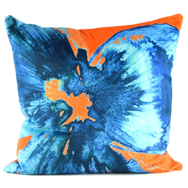 Nod to Andy - Sapphire Citrine Cushion