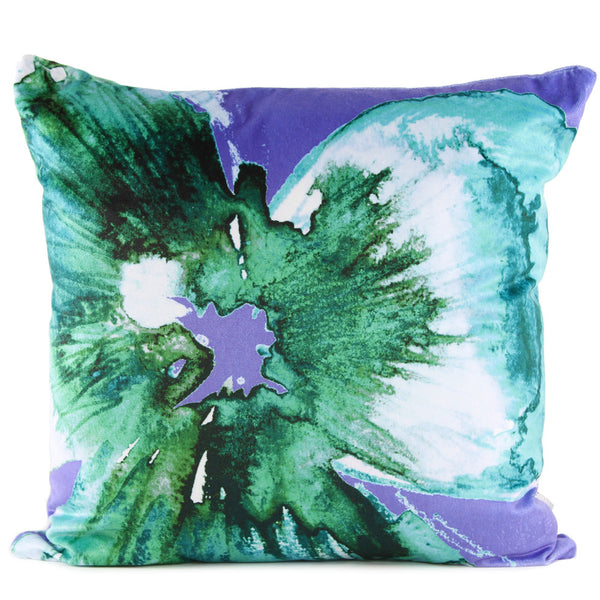 Nod to Andy - Emerald Amethyst Cushion