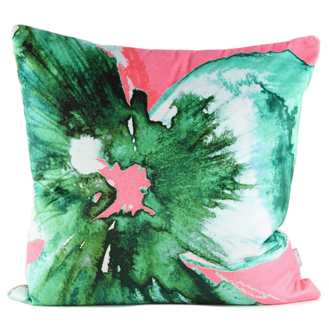 Nod to Andy - Emerald Pink Cushion