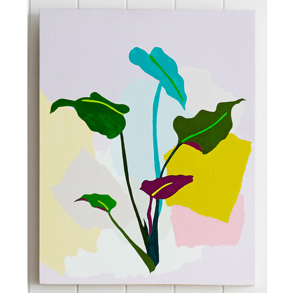 Plant Series - Philodendron - leah bartholomew - Greenhouse Interiors - 1