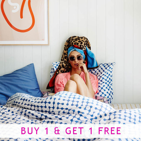 Leopard St. Towels - BUY 1 GET 1 FREE