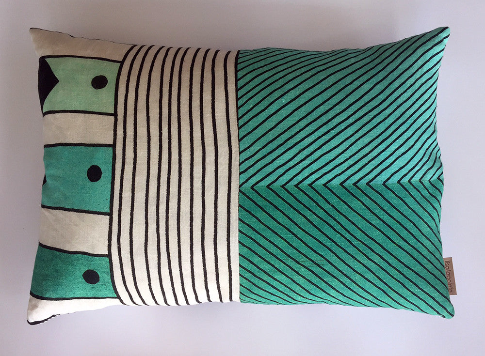 Horizontal Patchwork Cushion 1