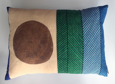 Horizontal Patchwork Cushion 2
