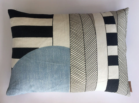 Horizontal Patchwork Cushion 3