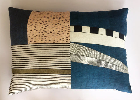Horizontal Patchwork Cushion 4