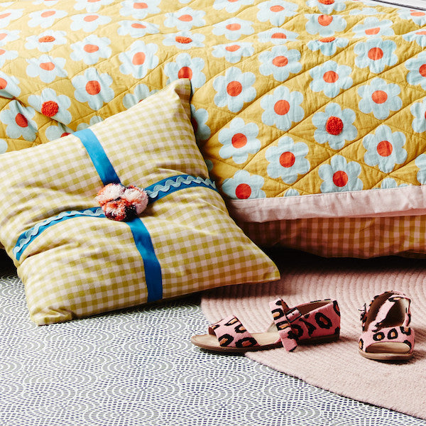 Carine Ribbon Cushion
