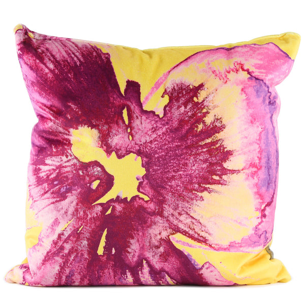 Nod to Andy - Magenta Yellow Cushion