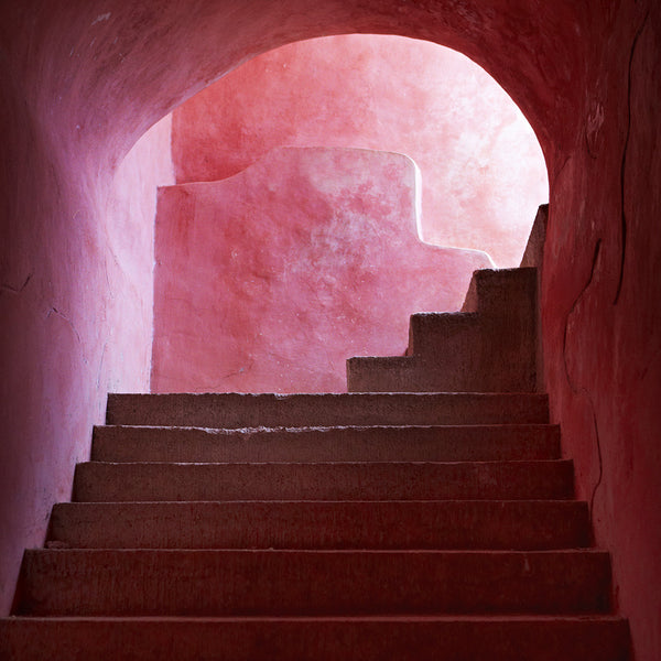 Pink Stairs - Armelle Habib - Greenhouse Interiors - 1