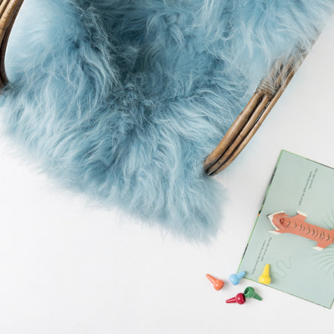 Icelandic Sheepskin Hide - Bubblegum