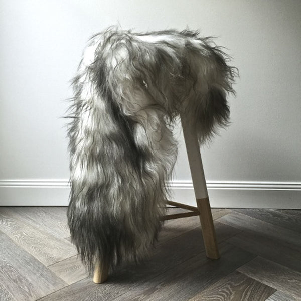 Icelandic Sheepskin Hide - Flecked - Society of Wanderers - Greenhouse Interiors - 1