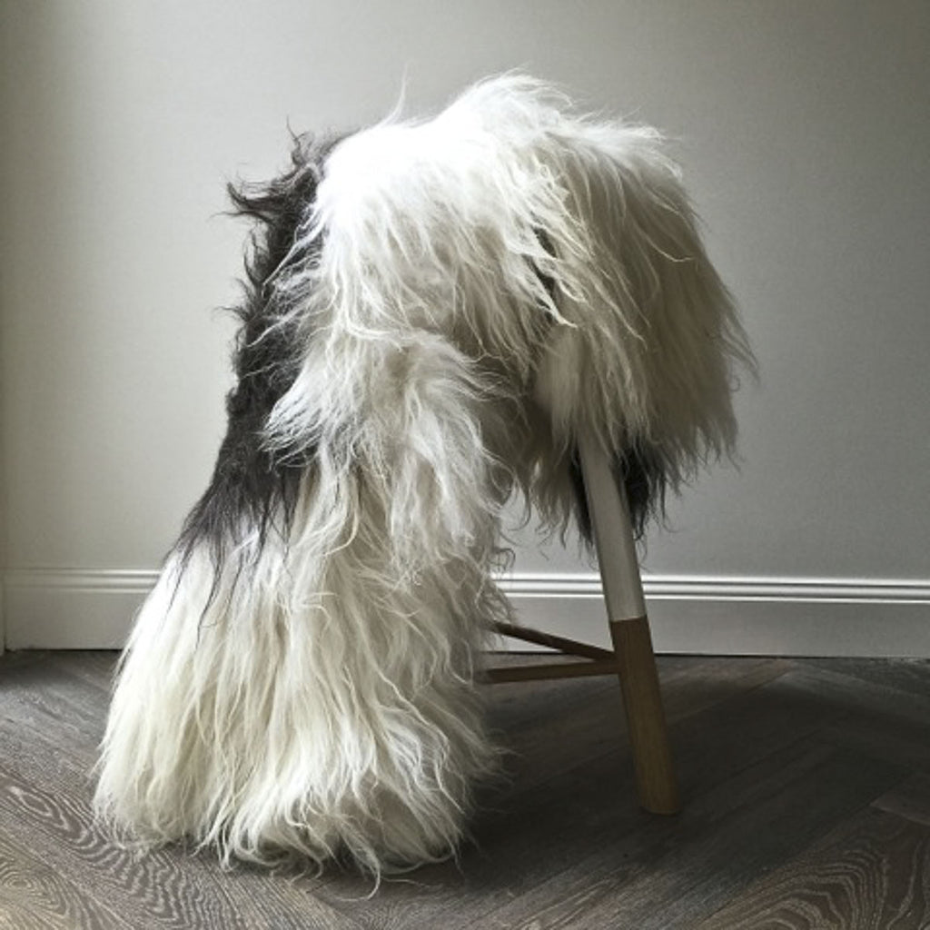Icelandic Sheepskin Hide - Spotted - Society of Wanderers - Greenhouse Interiors - 1