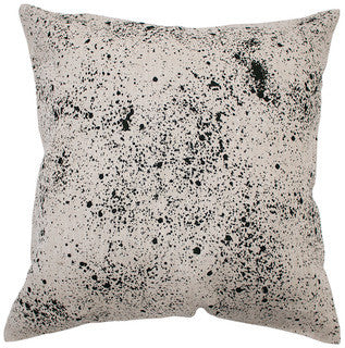 SPECKLED linen cushion (with insert) - oatmeal