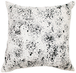 SPECKLED linen cushion (with insert) - off white