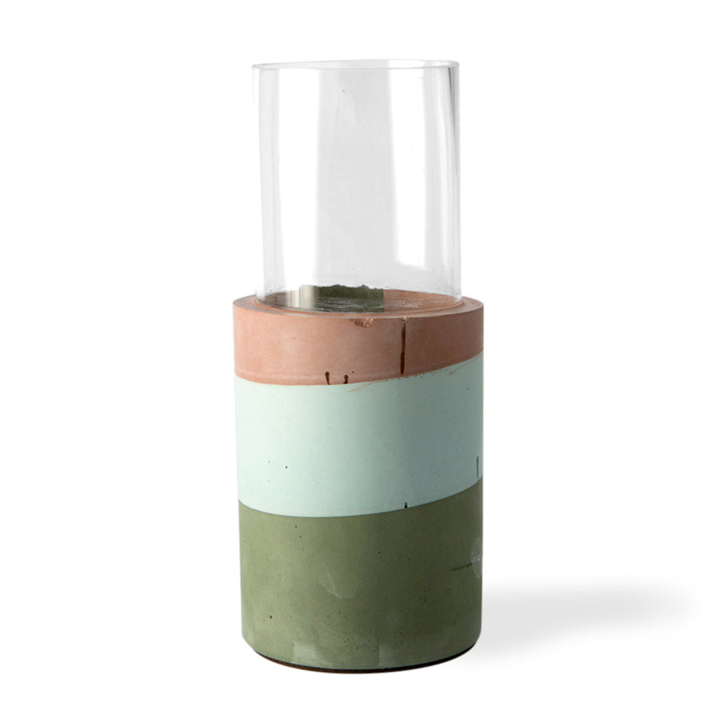 Cylinder Vase Bottom - Forest