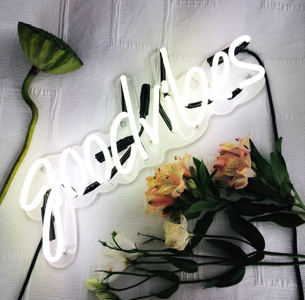 Goodvibes (glass neon)