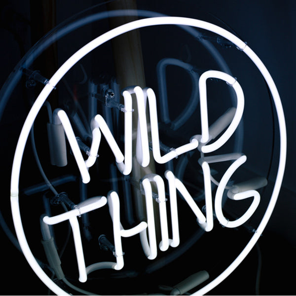 Wild Thing (glass neon)