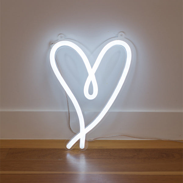 Little Love - White (LED neon flex)