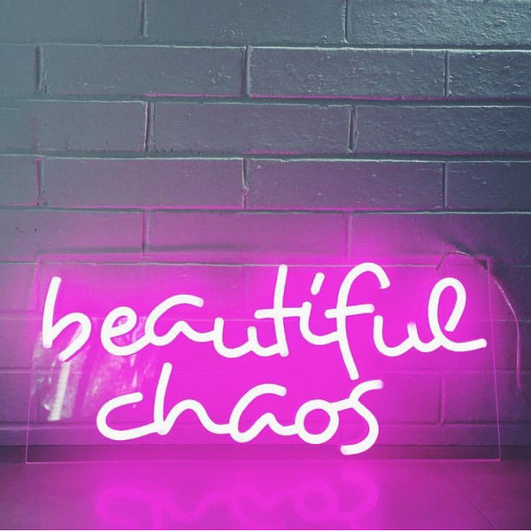 Beautiful Chaos (LED neon flex)