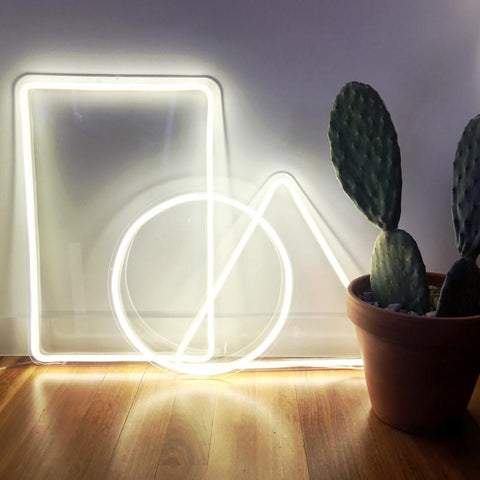 Circle - White (LED Neon Flex)