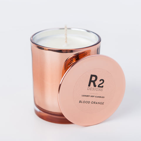 Copper Candle - Blood Orange