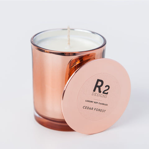 Copper Candle - Cedar Forest