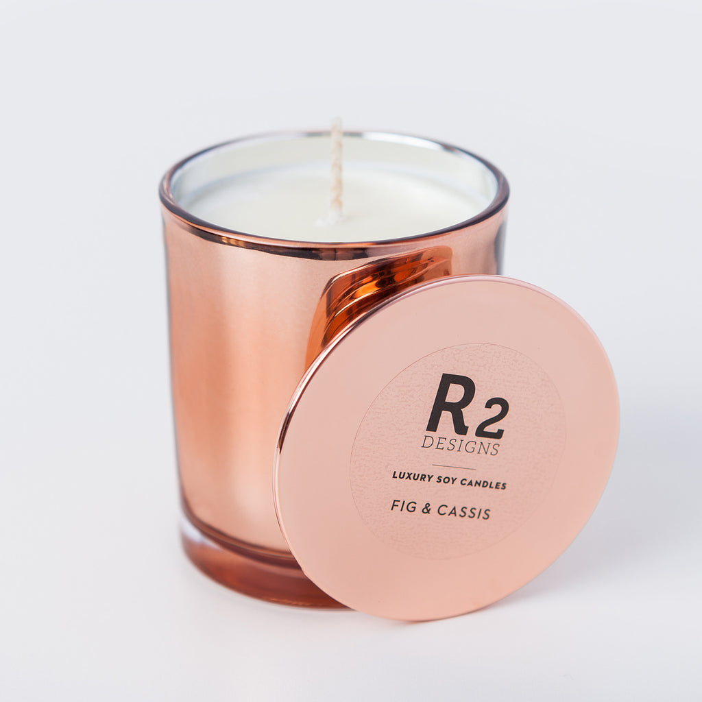 Copper Candle - Fig & Cassis