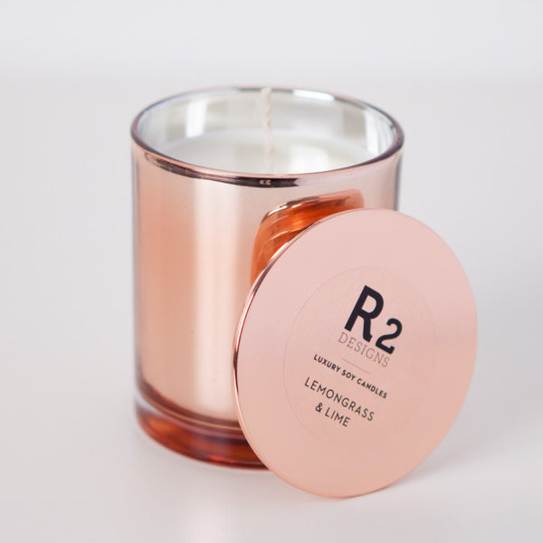 Copper Candle - Lemongrass & Lime
